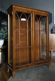 Antique glass shopfitting cabinet, english, bronze, retail, display, victorian. Vintage Display Cabinet Makeover With Annie Sloan Designsixtynine