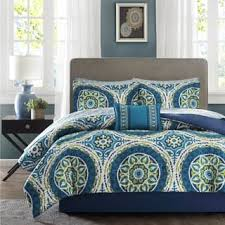 blue and green bedding.  And Clay Alder Home Prowers Blue Complete Comforter And Cotton Sheet Set To And Green Bedding R