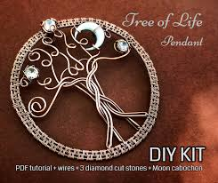 full kit tree of life pendant wire wrap