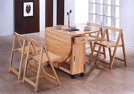 space saving table and chairs uk practical saver folding dining room tables modern home design