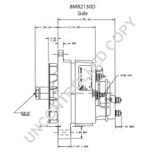 860804 alternator product details prestolite leece neville 8mr2130d side dim drawing output curve 8mr2130d output curve wiring diagram