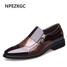 NPEZKGC New Spring Fashion Oxford Business Men Shoes ...
