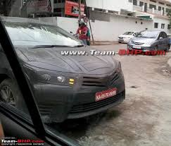 new car launches in early 2014More Spy Pics of New 2014 Toyota Corolla Launch Early 2014