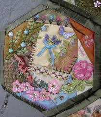 536 best Hexagon Crazy Quilting images on Pinterest | Embroidery ... & Image · Hexagon QuiltingCrazy ... Adamdwight.com