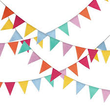 Triangle Banner Hestya Multicolor Pennant Banner 42 Pieces Triangle Flag Bunting For Party Hanging Decoration