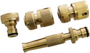 garden hose fittings. Amtech U2520 Brass Hose Fittings, 4-Piece: Amazon.co.uk: Garden \u0026 Outdoors Fittings O