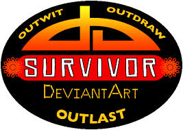 Survivor: deviantArt logo by terriblenerd on DeviantArt