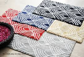 Patterned Bath Rugs