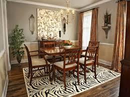 dining room wall ideas decor rug area