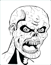 Creepy Coloring Pages Scary Coloring Pages To Print Creepy Coloring