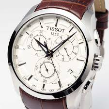 tissot t035 617 16 031 00 couturier mens watch chronograph brown tissot t035 617 16 031 00 couturier mens watch chronograph brown leather