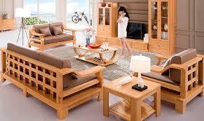 modern design living room on wooden sofa designs modern sofa set