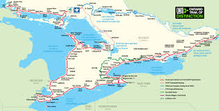 Lake Ontario Chart Downloadable Maps Great Lakes Waterfront Trail