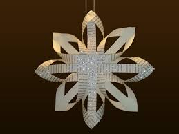 The Finnish Paper Star can be made in various sizes and can be used as a  ceiling decoration, a Christmas Tree ornament or even as a Christmas Tree  Topper!