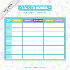 Schedule To Print Schedule Vectors Photos And Psd Files Free Download