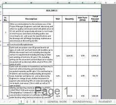 Documents similar to bill of quantities template excel.xls. Bill Of Quantities Boq Building Engineering Civil Engineering Construction Civil Engineering