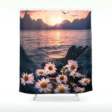 nature shower curtains the power of nature shower curtain nature print shower curtains