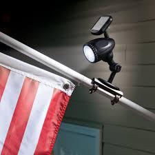 Flag Lights Pole Solar Flag Pole Light