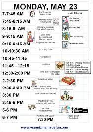 Image Result For Daily Routine Chart For Adults Chore