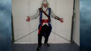 Assassins Creed Costume Pattern Amazing Connor Costume From Assassins Creed 48 YouTube