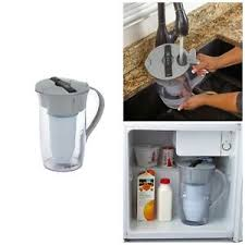 Details About Zero Water Round Pitcher 8 Cup Water Quality Meter 5 Stage Filtration System New