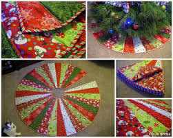 Christmas Tree Skirt Pattern Mesmerizing Quilt Inspiration Free Pattern Day Christmas Tree Skirts