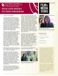 home college of arts and sciences the university of oklahoma fms newsletter winter 2016 pdf
