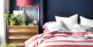white bedroom with blue accents. Unique Bedroom Red White Blue Bedroom Inside White Bedroom With Blue Accents