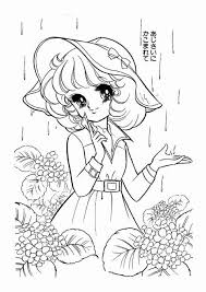 Printable Anime Coloring Pages And Color Pages For Girl New