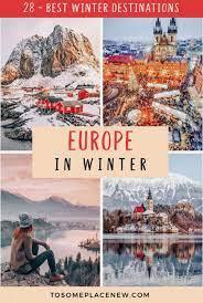 28 best winter destinations in europe