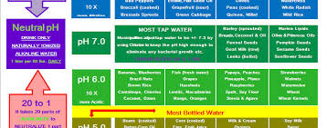 Acid Alkaline Food Chart Australia Acid Vs Alkaline And Why One Creates Death And The Other