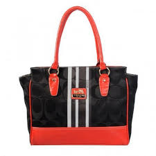 Coach Candace In Signature Medium Black Satchels BFL