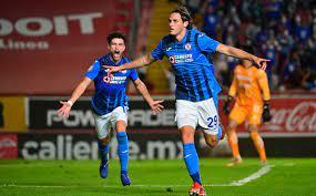 Necaxa vs Cruz Azul. Goals and result ...