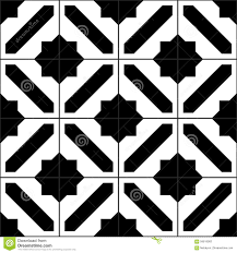 Simple Tile Designs And White Moroccan Tiles Seamless Pattern Vector Throughout Decorating