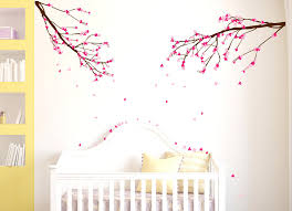 little girls wall decals bedroom room decor ideas cool bunk beds built into wall jungle wall decals for nursery