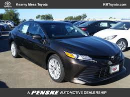 2018 New Toyota Camry XLE Automatic at Kearny Mesa Toyota Serving ...