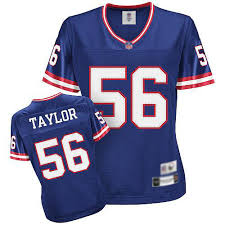 Reebok Womens Lawrence Taylor Replica Royal Blue Home