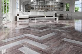 View in gallery rectified wood effect tile floor ...