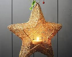 Gold Wire Star Lantern LTWA016