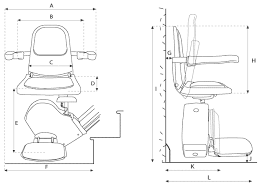 technical specification brooks stairlift call 0800 834 730 click here to view a larger diagram