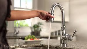 Moen Motionsense Kitchen Faucet Moen Motionsense Faucet Low Flow Touch Free 169031 177565 7185srs