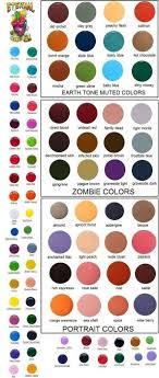 Eternal Ink Colour Chart Full 50 Color Set 1oz Bottles Eternal Tattoo Ink