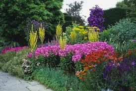 from the great broad walk borders in kew gardens which is the world s largest double herbaceous border to the beautiful double border at arley gardens