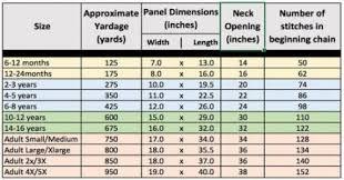 Crochet Baby Pants Size Chart 22 Ideas Crochet Baby