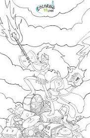 Small Picture Adventure Time coloring page Coloring Pages of Epicness