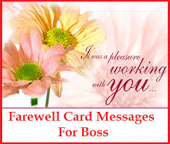 Thank You Message To Boss Sample Messages And Wishes What To Write In A Farewell