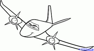 Small Picture Planes Coloring Pages
