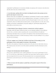 Self Performance Review Examples Choice Image - Resume Cover Letter ...