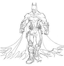 Batman To Print Batman Kids Coloring Pages