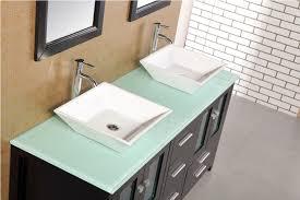 61 arlington dec072b g double sink bathroom vanity set
